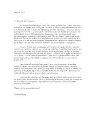 School Administrator Cover Letter School Admin Assistant Cover Letter Frankiechannel Com