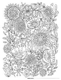 Mothers Day Flowers Coloring Pages Free Large Images More In Flower