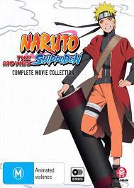 Naruto Shippuden | Complete Movie Collection, Blu-Ray