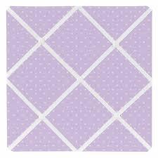 Purple Memo Board Delectable Mod Dots Purple Collection Mini Dot Print Fabric Memo Board