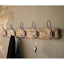 Brass Coat Rack Wall Mounted Coat Rack Hooks Rustic Nautical Hall Tree Primitive Golfocd 50