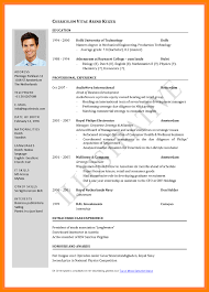 Latest Resume Format 2017 Latest Cv Format Pdf 24 C24ualwork24org 7