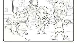 peter pan coloring pages jake and the neverland pirates peter pan