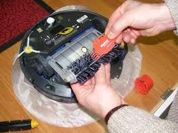 Ремонт роботов пылесосов в СПб
