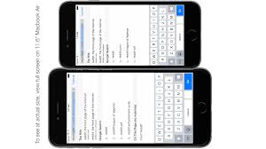 iphone 6 screen size inches iphone 6 and 6 plus actual size on your screen includes keyboard