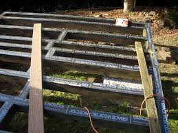 joist beam deck flashing