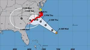 Hurricane Tracking Chart Florence When Will Hurricane Florence Make Landfall Charlotte Observer
