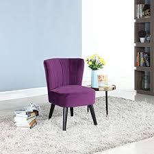 purple furniture. Divano Roma Furniture Classic And Traditional Living Room Velvet Fabric Accent Chair (Purple) Purple