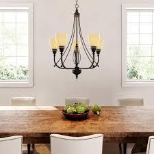 upc 848566012019 image for commercial electric 5 light bronze chandelier upcitemdb com