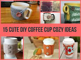 15 cute diy coffee cup cozy ideas jpg