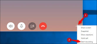 record skype video calls how to record skype calls