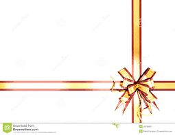 gold ribbon border gold festive ribbon with a border stock illustration