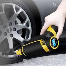 120W Ô Tô Không Dây Không Khí Cầm Tay USB Sạc Máy Bơm Hơi Lốp Xe Kỹ Thuật  Số Bơm Hơi Bơm Áp Phụ Kiện Xe Hơi|Inflatable Pump