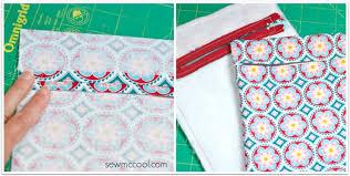 How to sew a crossbody purse with a zipper - Sew McCool & A crossbody purse by sewmccool 6 Adamdwight.com