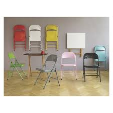 black metal folding chairs. MACADAM Grey Metal Folding Chair | Buy Now At Habitat UK Black Chairs A