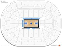 bok center courtside seating chart