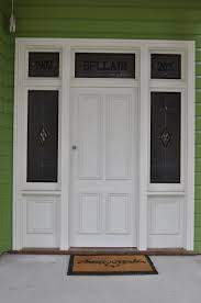 entry unit with victorian 4 panel door