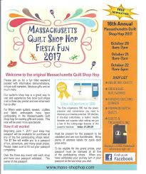 Massachusetts Shop Hop - Welcome to our Shop Hop Dates:Oct 20, 21 ... & Mara Priestly, Belchertown Adamdwight.com