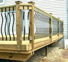 diy deck railing planter box build a safety wood post wooden porch handrail ideas tips in diy deck railing