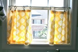 Diy No Sew Curtains Pinspiration Monday No Sew Cafe Curtains Dream Green Diy