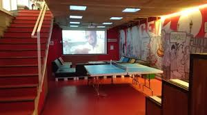 basement movie room.  Room Movie Room And Ping Pong Take Down In Basement On Basement Movie Room