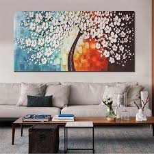 unframed print canvas wall art peacock plum flower painting picture wall hanging home living room decor walmart  on plum flower canvas wall art with unframed print canvas wall art peacock plum flower painting