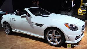 See car photos, auto videos, car safety information, new car prices, special offers, reviews, and. 2015 Mercedes Benz Slk Class Slk350 Roadster Exterior And Interior Walkaround 2014 La Auto Show Youtube