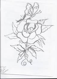 Flower drawings tumblr e2 80 93 pencil art drawing loversiq