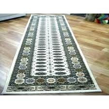 black carpet runner and white chevron rug sophisticated for prom