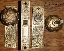 Antique Restoration Hardware Doorknobset10a