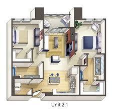 Stunning Studio Apartment Design Layouts Contemporary - Tiny studio apartment layout