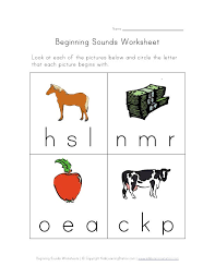 Free downloadable and printable worksheets! Beginning Sounds Worksheets Beginning Sounds Worksheets Phonics Beginning Sounds