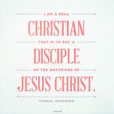 A Real Christian Quotes Best Of A Christian A Disciple
