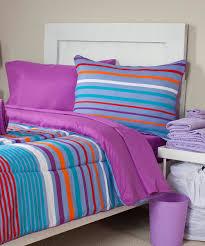simple bedroom with blue purple stripe comforter sets and purple stripe bedding design bedroom