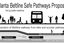 peion calls for separate path for bikes scooters on atlanta beltline