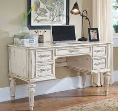 shabby chic office desk. white shabby chic computer desk complete with drawers home plan 0 office c