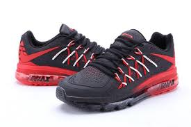 nike running shoes for men black and red. best option nike air max 2015 black red running shoes for men and