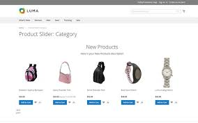 products page magento 2 product slider featured products onsale products