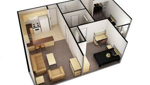 2 bedroom 2 bathroom. 3d version of 2-bed 1-bath, single apartment 2 bedroom bathroom r