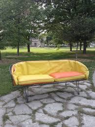 vintage mid century modern patio furniture. SALE Vintage Mid Century Modern Patio Furniture Wire Cage Mid Century Patio  Chair Vintage Modern Furniture T