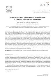 Planing Hull Design Theory Pdf Design Of High Speed Planing Hulls For The Improvement