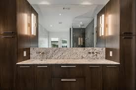 Dark Bathroom Cabinets Contemporary Bath Cabinets Rift Cut Oak Medium Dark Stain Buy