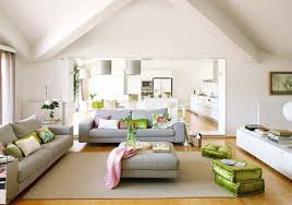 Interior Designs Living Room Comfortable White Home Living Room Interior Design Ideas With Grey
