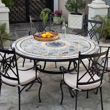 round patio dining set seats 6