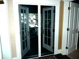 pella retractable screen door repair patio parts sliding adjustment amazing slidi
