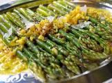asparagus in orange sauce
