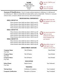 Combination Resume Formats Combination Resume Format For 1 Page Free Template Style