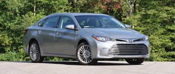 Revised 2016 Toyota Avalon Smoothens the Ride - Consumer Reports