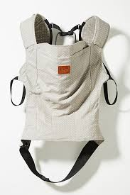Linen Baby Carrier | Anthropologie