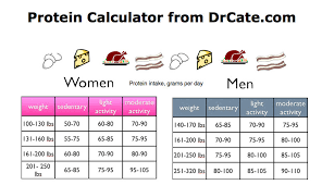 28 Disclosed Protein Chart For Weight